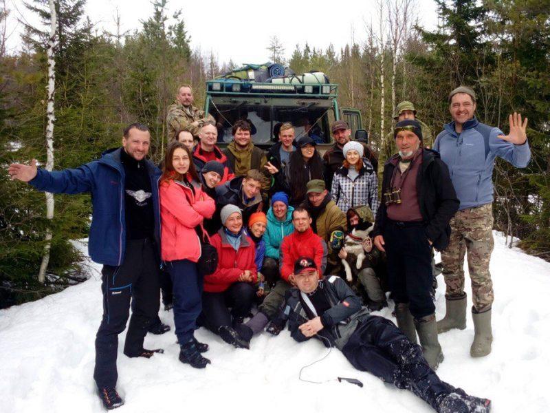 Научно исследовательская экспедиция на Воттоваару закончилась эвакуацией неподготовленных туристов с горы