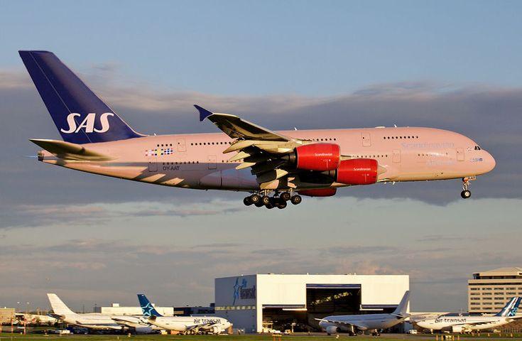 Авиакомпания SAS будет летать между Киевом и Осло трижды в неделю